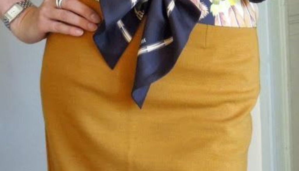 Usos del pañuelo de seda