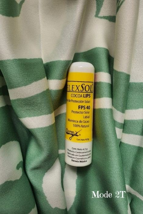 Hidratante de labios con protección solar Blog